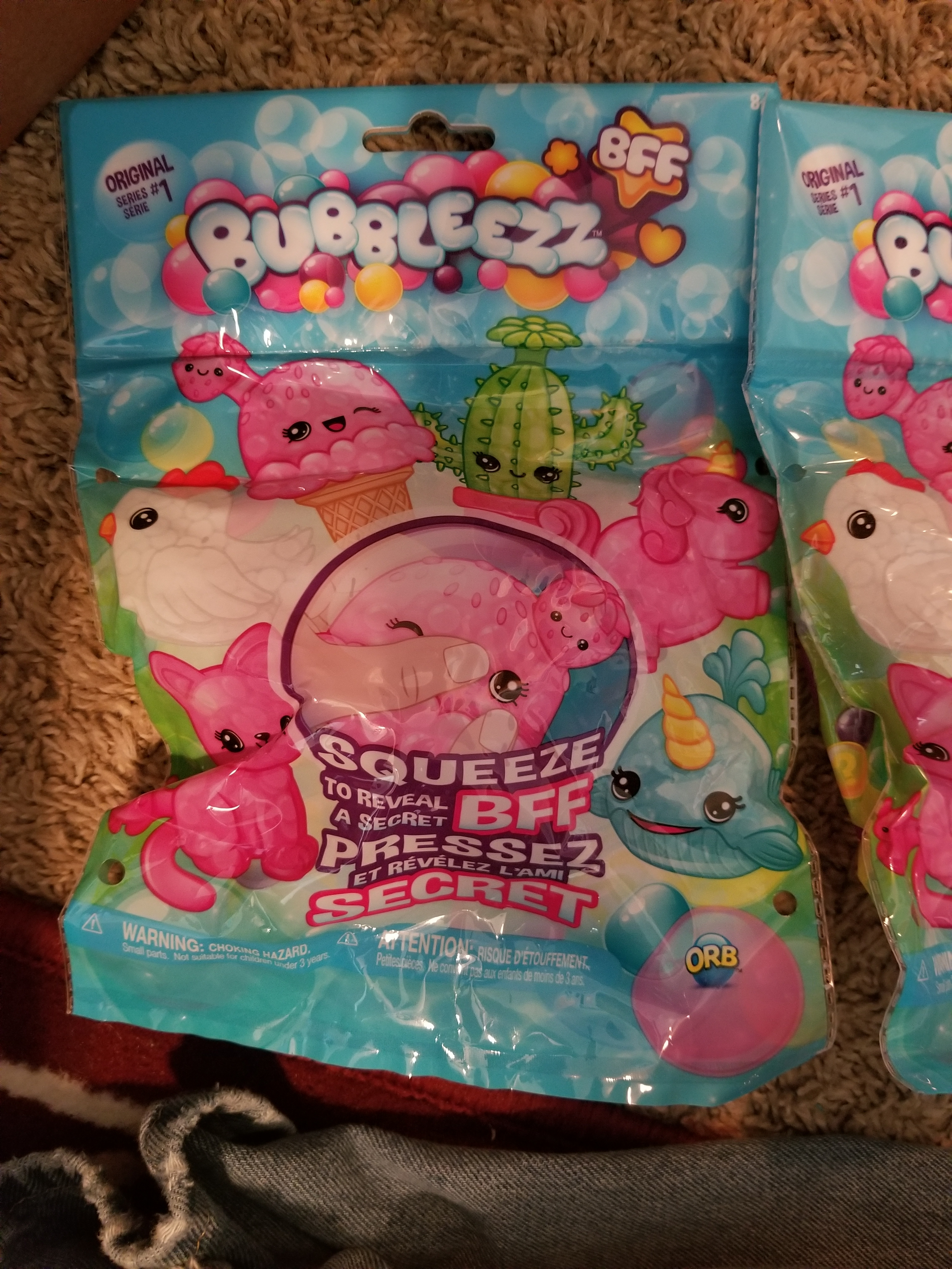 Squeeze To Reveal Original Series 1 Bubbleezz BFF Secret BFF